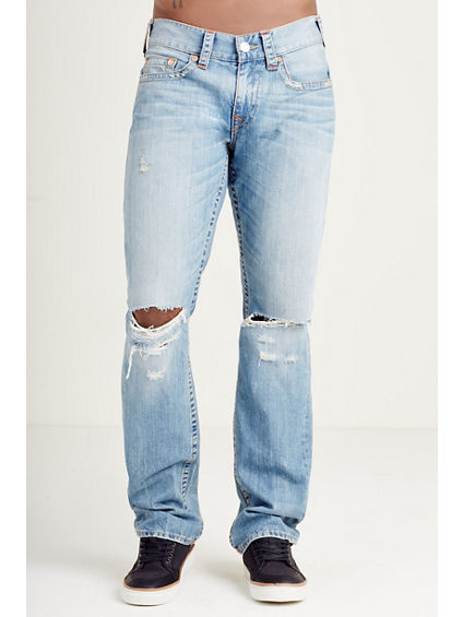 STRAIGHT RIPPED MENS JEAN