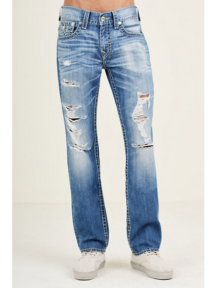 STRAIGHT DESTRUCT BIG T MENS JEAN