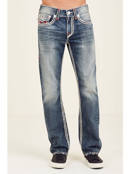 STRAIGHT FLAP SUPER QT STITCH MENS JEAN