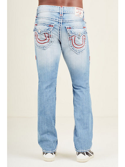 STRAIGHT STITCH MENS JEAN