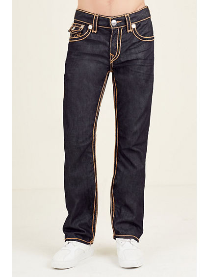 STRAIGHT BIG T ROPE STITCH MENS JEANS