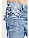 STRAIGHT FLAP NATURAL SUPER T MENS JEAN