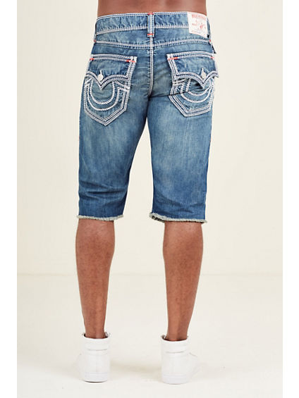 STRAIGHT CUT OFF SHORT MEGA T MENS SHORT