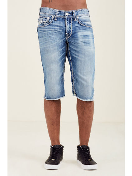 STRAIGHT CUT OFF MEGA T MENS SHORT