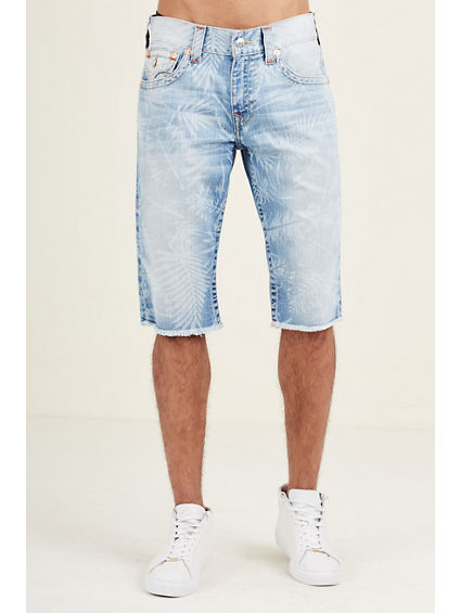 CUT OFF PRINTED MENS SHORT
