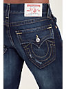 SLIM FIT NATURAL STITCH JEAN
