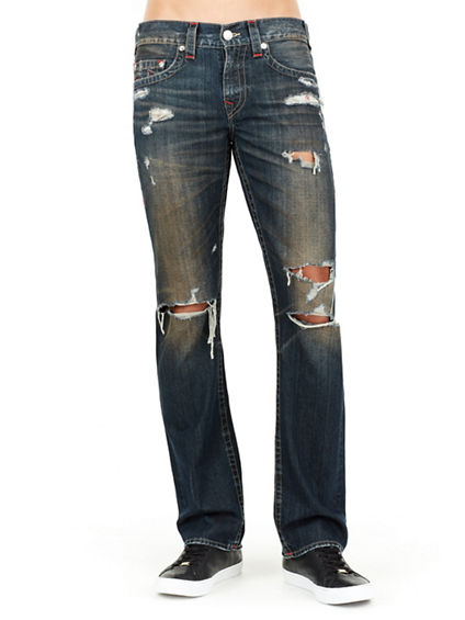 STRAIGHT RUNSTITCH MENS JEAN