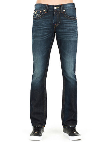 STRAIGHT FLAP RUNSTITCH MENS JEAN