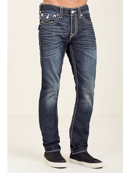 SKINNY FLAP BIG T GOLD MENS JEAN