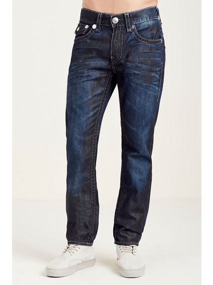 SKINNY FLAP GREY SUPER T STITCH MENS JEAN
