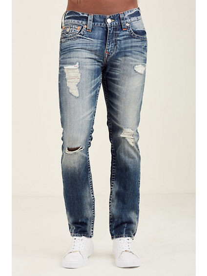 SKINNY FIT NATURAL STITCH JEAN