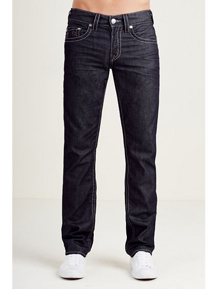 SLIM GREY BIG T STITCH MENS JEAN
