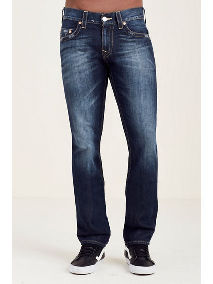 SLIM WHEAT STITCH MENS JEAN