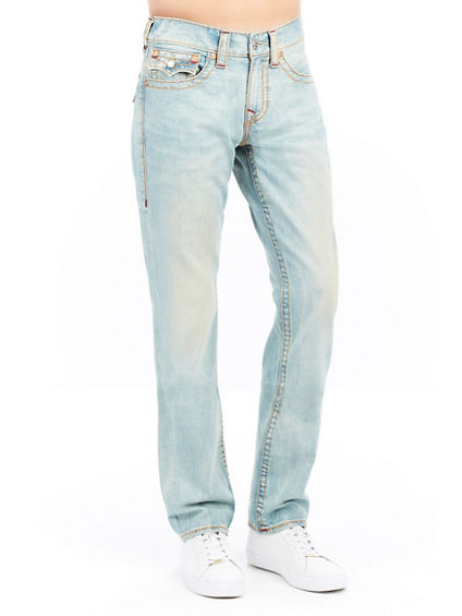SLIM FIT FLAP BIG T MENS JEAN