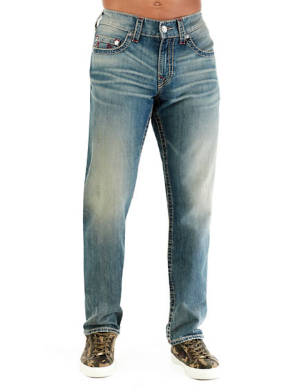 SLIM EARTHWORM BIG T MENS JEAN
