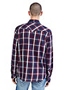 PLAID WESTERN MENS SHIRT