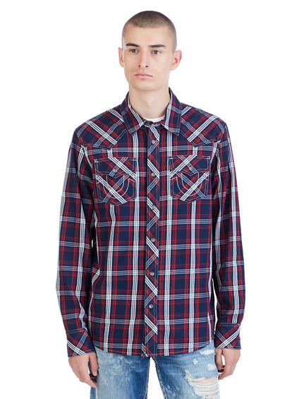 LS WESTERN MENS SHIRT