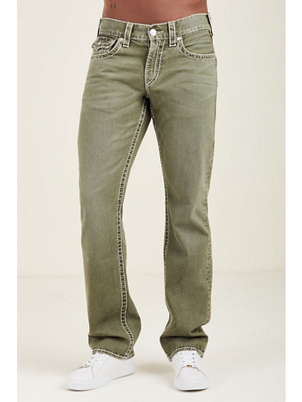 STRAIGHT FLAP TONAL BIG T MENS JEAN
