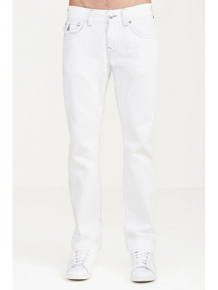 STRAIGHT WHITE MENS JEAN