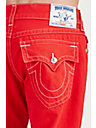 STRAIGHT RED MENS JEAN