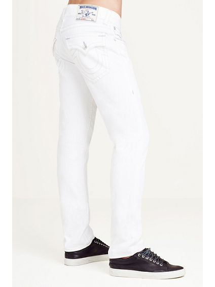 SKINNY FLAP WHITE MENS JEAN