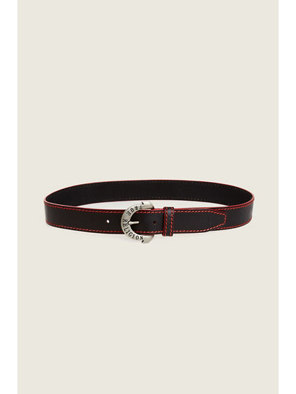RED BIG T MENS BELT