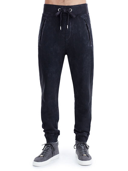 COATED MOTO MENS SWEATPANT