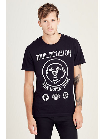 ELONGATED TR WORLD TOUR MENS TEE