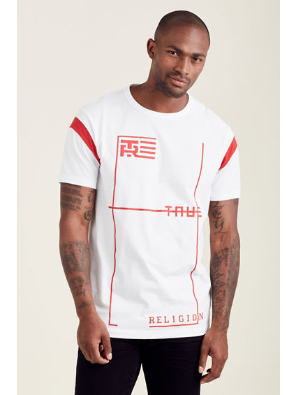 ELONGATED FOOTBALL TEE