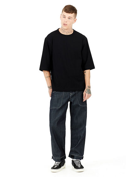 MENS URBAN OVERSIZED SEAMLESS  TEE