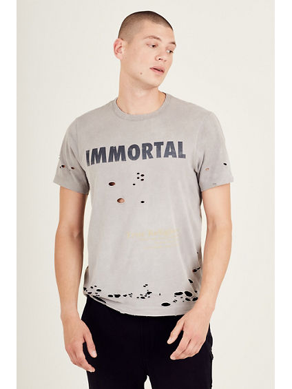 DISTRESSED IMMORTAL MENS TEE