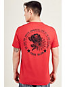 WEB AND ROSE MENS TEE