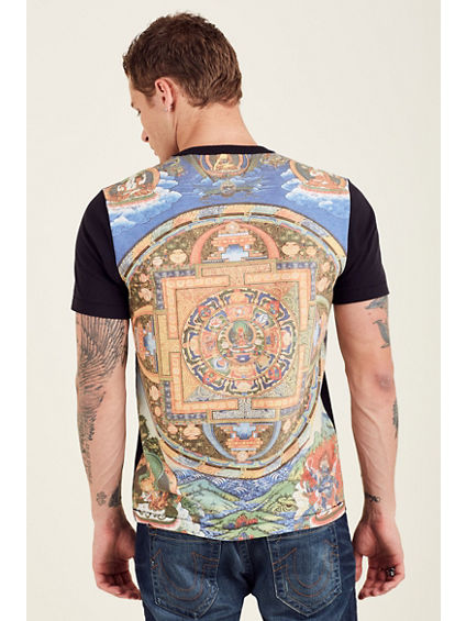 SUBLIMATION PANEL MENS TEE