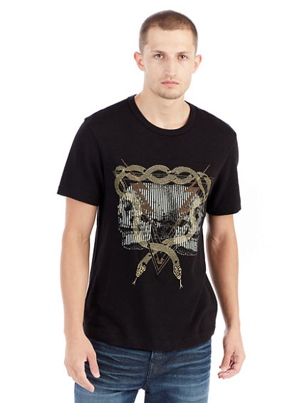 TWIN BOLT GRAPHIC MENS TEE