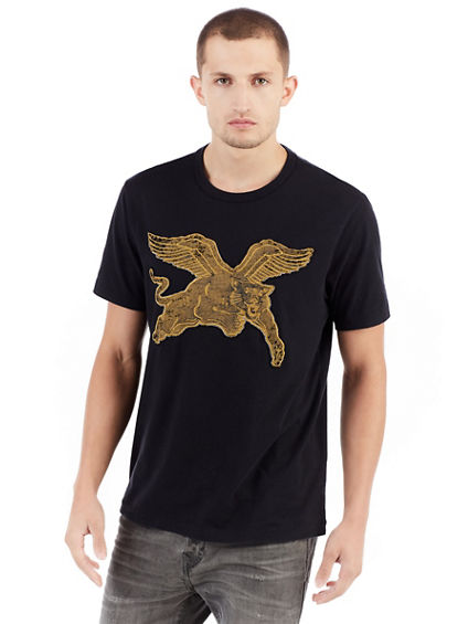 FLYING PANTHER MENS TEE