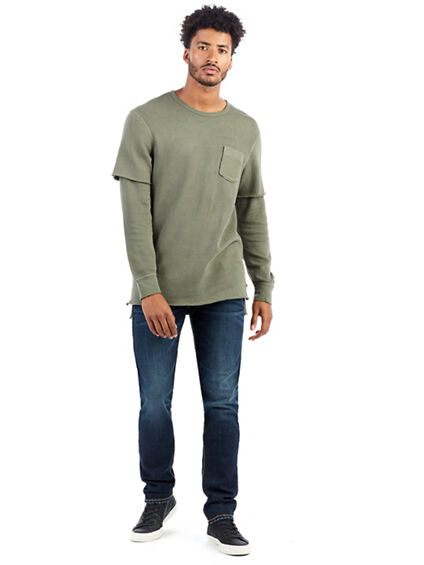 DOUBLE LAYER MENS SHIRT