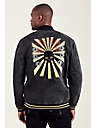 EMBROIDERED CAMO MENS JACKET