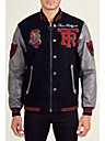 MENS LEATHER VARSITY JACKET