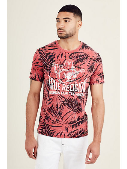 PALM FRONDS MENS TEE