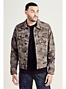 CAMO TRUCKER MENS JACKET