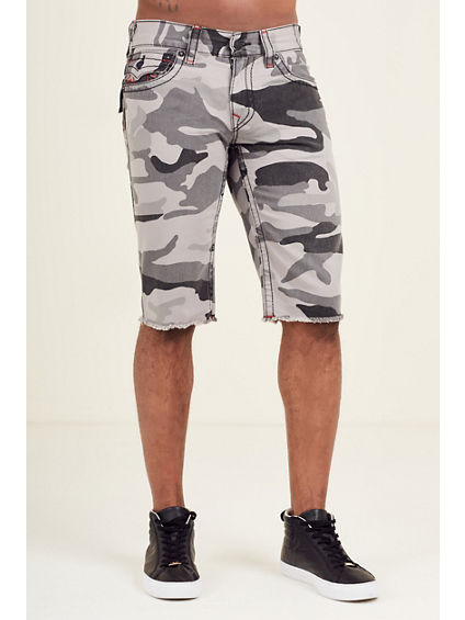 STRAIGHT CUT OFF FLAP BIG T MENS SHORT