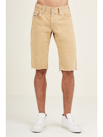 STRAIGHT  NATURAL BIG T MENS SHORT