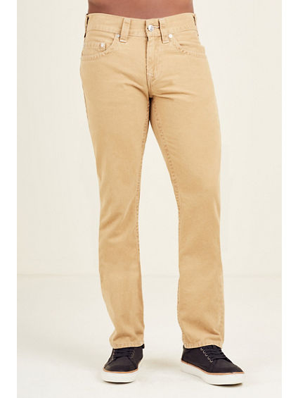 SLIM NATURAL MENS PANT