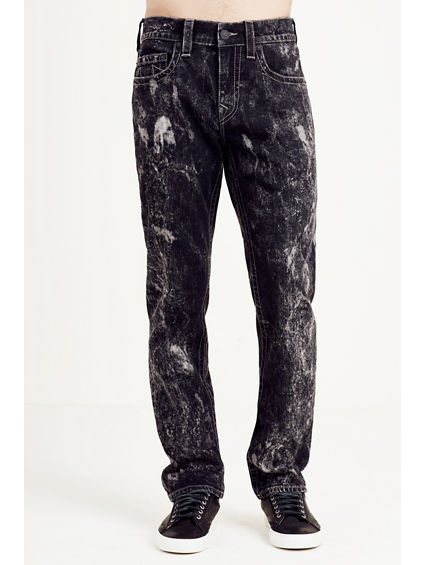 SKINNY FADED BLACK MENS JEAN