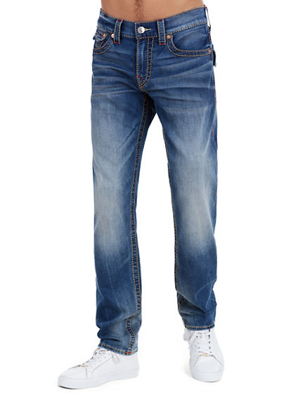 SLIM FLAP BIG T RED MENS JEAN