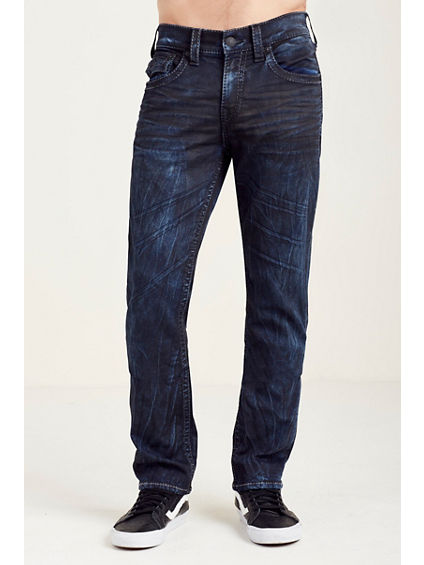 SLIM FLAP GREY BIG T STITCH MENS JEAN