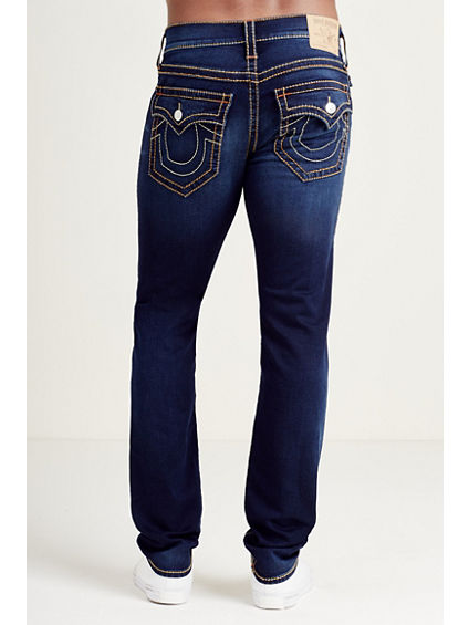 SKINNY FLAP MULTI BIG T STITCH MENS JEAN