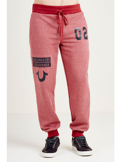 HAND PICKED COLOR BLOCK JOGGER MENS SWEATPANT