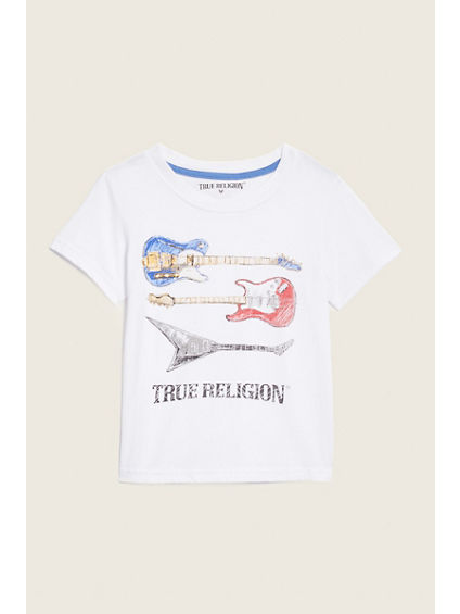 GUITARS LOGO KIDS TEE