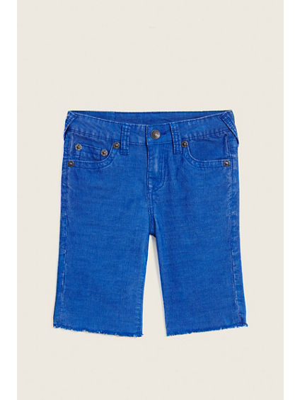 SLIM FIT CORD KIDS SHORT